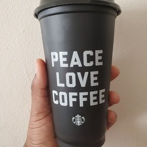 Black Starbucks Reusable Cup